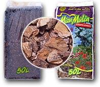 Мульча из сосновой коры 20-40 мм